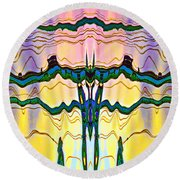 Overlord Round Beach Towel