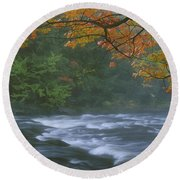 Oxtongue River Provincial Park, Dwight Round Beach Towel