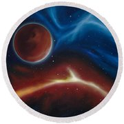 Oxytonon Round Beach Towel