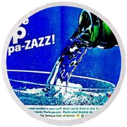 Pa-zazz Round Beach Towel