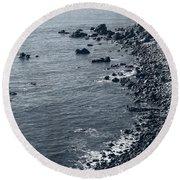 Pacific Coast 4 Round Beach Towel