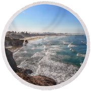 Pacific Coast Round Beach Towel