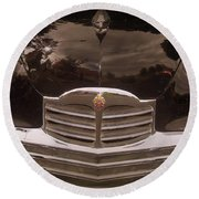 Packard Grill Round Beach Towel