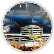 Packard IIi Round Beach Towel