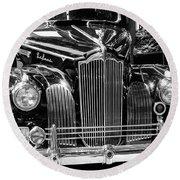 Packard Motor Car Round Beach Towel