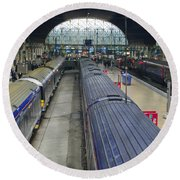 Paddington Station Round Beach Towel