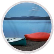 Paddle's End Round Beach Towel