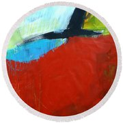 Paint Improv 11 Round Beach Towel