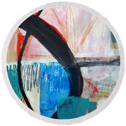 Paint Solo 1 Round Beach Towel