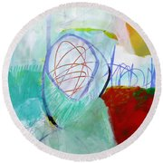 Paint Solo 2 Round Beach Towel
