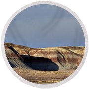 Painted Desert 1 Round Beach Towel