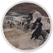 Painted Desert Round Beach Towel