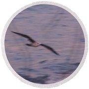 Painting Birds Round Beach Towel
