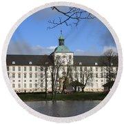 Palace Gottorf - Schleswig Round Beach Towel