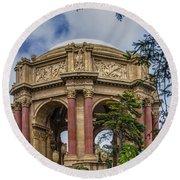 Palace Of Fine Arts - San Francisco California Round Beach Towel