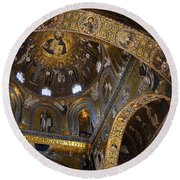 Palatine Chapel Round Beach Towel