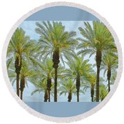 Palms Round Beach Towel