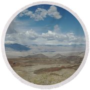 Panamint Valley Round Beach Towel
