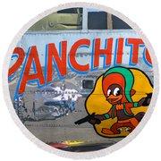 Panchito Round Beach Towel