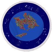 Pangea Ultima Round Beach Towel