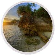 Panglao Island Nature Resort 2.0 Round Beach Towel
