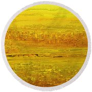 Panorama 2 Round Beach Towel
