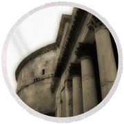 Pantheon Round Beach Towel