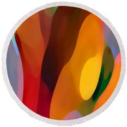 Paradise Found 3 Tall Round Beach Towel by Amy Vangsgard