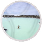 Paradise - Found Round Beach Towel
