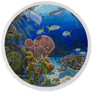 Paradise Re0012 Round Beach Towel