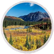 Paradise View Round Beach Towel