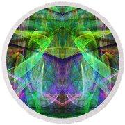 Parallel Universe Ap130511-22 Round Beach Towel