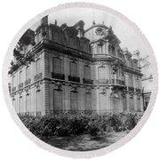 Paris Private Home, 1872 Round Beach Towel