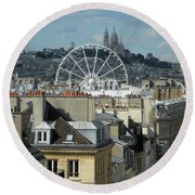 Parisscope Round Beach Towel