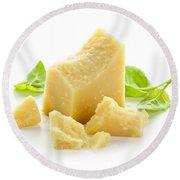 Parmesan Cheese Round Beach Towel