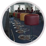 Party Room... Round Beach Towel