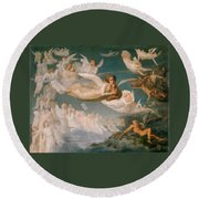 Passage Of The Souls Round Beach Towel