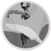 Passion Of Dance Round Beach Towel