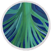 Past Lives By Jrr Round Beach Towel