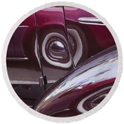 Past Reflections Round Beach Towel