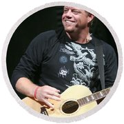 Pat Green  Round Beach Towel