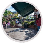 Pat O'brien's Bar  Round Beach Towel