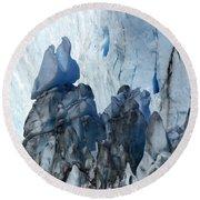 Patagonia Glaciar Perito Moreno 3 Round Beach Towel