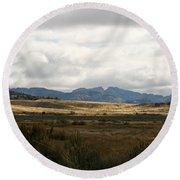 Path Of The Pioneers - Split Rock - Jeffrey City - Wyoming Round Beach Towel