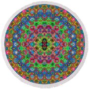 Pattern One... Round Beach Towel