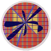 Pattern Play Round Beach Towel