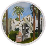 Patterson Historical Society Round Beach Towel