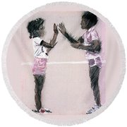 Patti Kake Round Beach Towel