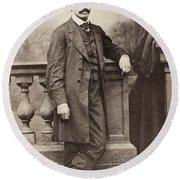 Paul Duchaillu (1831-1903) Round Beach Towel