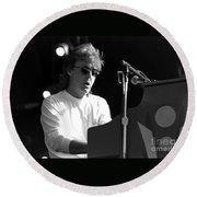 Paul Mccartney - Magical Piano Round Beach Towel